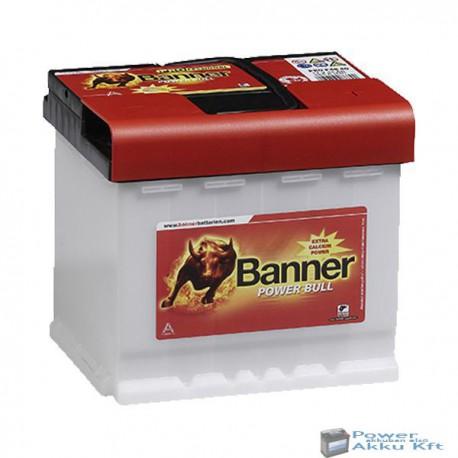 Banner Power Bull Pro. 12V 50Ah 420A jobb+ akkumulátor