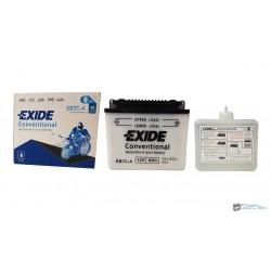 EXIDE EB7C-A 12V 8Ah 90A jobb+ motorkerékpár akkumulátor
