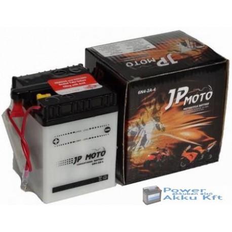 JP Moto Y-6N4-2A-4 6V 4Ah 25A jobb+ motorkerékpár akkumulátor