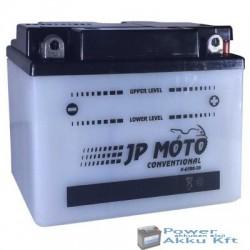 JP Moto Y-6CB8-3B 6V 8Ah 64A jobb+ motorkerékpár akkumulátor