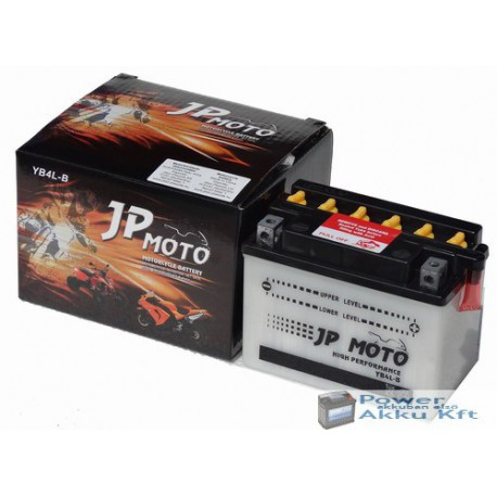 JP Moto Y-CB4L-B 12V 4Ah 40A jobb+ motorkerékpár akkumulátor