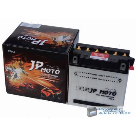 JP Moto Y-CB9-B 12V 9Ah 90A bal+ motorkerékpár akkumulátor