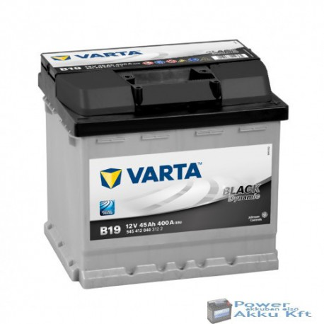 Varta BLACK dynamic 12v 45Ah 400A Jobb+ akkumulátor