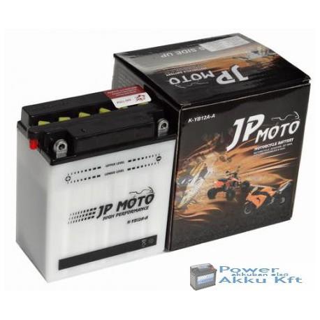 JP Moto Y-CB12A-A 12V 12Ah 135A bal+ motorkerékpár akkumulátor