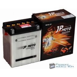 JP Moto Y-CB14L-A2 12V 14Ah 160A jobb+ motorkerékpár akkumulátor