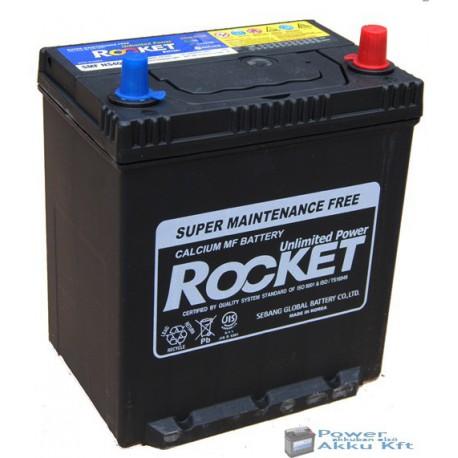 Rocket 12V 40Ah 340A jobb+ Japán Peremes akkumulátor