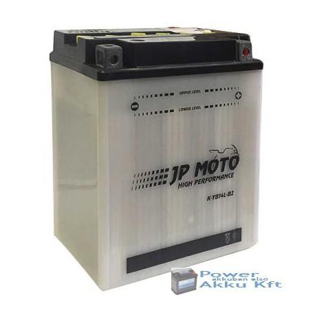 JP Moto Y-CB14L-B2 12V 14Ah 160A jobb+ motorkerékpár akkumulátor