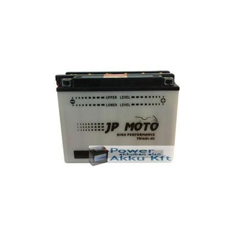 JP Moto Y-CB16AL-A2 12V 16Ah 190A bal+ motorkerékpár akkumulátor