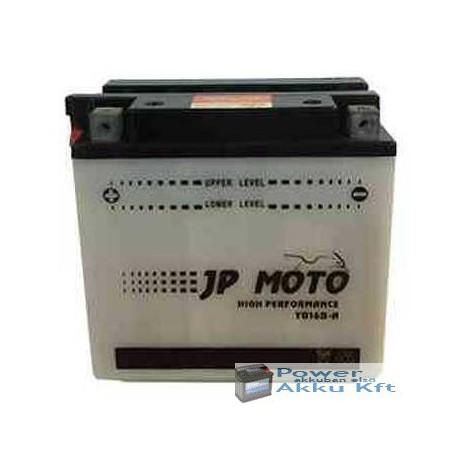 JP Moto Y-CB16B-A 12V 16Ah 180A bal+ motorkerékpár akkumulátor