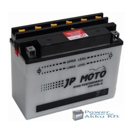 JP Moto Y-C50-N18L-A 12V 20Ah 220A jobb+ motorkerékpár akkumulátor