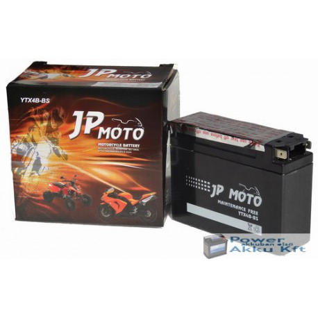 JP Moto Y-YTR4B-BS 12V 2,3Ah 30A jobb+ motorkerékpár akkumulátor