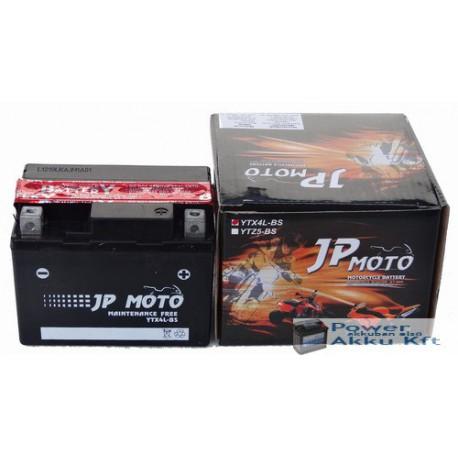 JP Moto Y-YTX4L-BS 12V 3Ah 40A jobb+ motorkerékpár akkumulátor