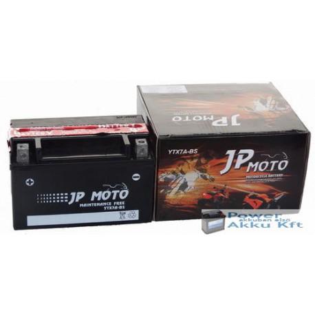 JP Moto Y-YTX7A-BS 12V 6Ah 85A bal+ motorkerékpár akkumulátor