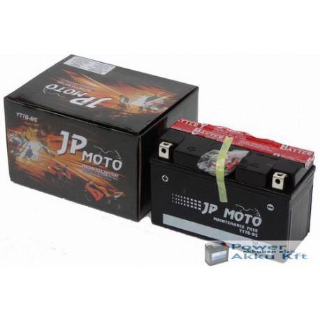 JP Moto Y-YTX7B-BS 12V 6Ah 85A bal+ motorkerékpár akkumulátor