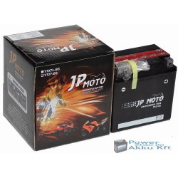 JP Moto Y-YTZ7-BS 12V 6Ah 85A jobb+ motorkerékpár akkumulátor
