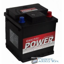 Electric Power 12V 40Ah PUNTO Jobb+ Akkumulátor