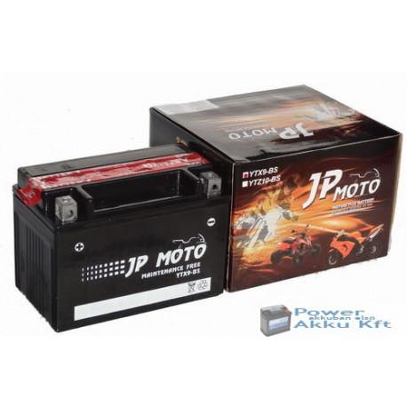 JP Moto Y-YTX9-BS 12V 8Ah 90A bal+ motorkerékpár akkumulátor
