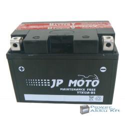 JP Moto Y-YTX12A-BS 12V 10Ah 120A bal+ motorkerékpár akkumulátor