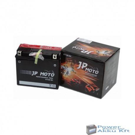 JP Moto Y-YT12B-BS 12V 10Ah 115A bal+ motorkerékpár akkumulátor