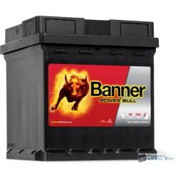 Banner Power Bull 12V 42Ah PUNTO Jobb+ akkumulátor