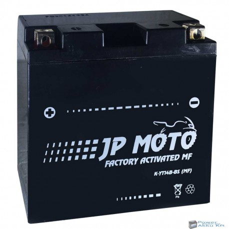 JP Moto Y-YT14B-BS MF 12V 12Ah 135A bal+ motorkerékpár akkumulátor