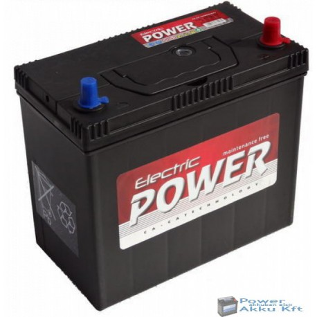Electric Power 12V 45Ah Japán Jobb+ Akkumulátor