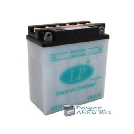 Landport YB5L-B 12V 5Ah 65A jobb+ motorkerékpár akkumulátor