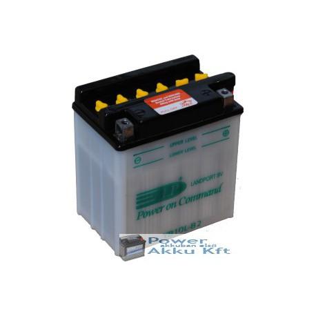 Landport YB10L-B2 12V 11Ah 150A jobb+ motorkerékpár akkumulátor