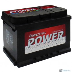 Electric Power 12V 60Ah 500A jobb+ akkumulátor