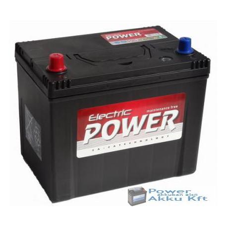 Electric Power 12V 70Ah japán 600A bal+ akkumulátor