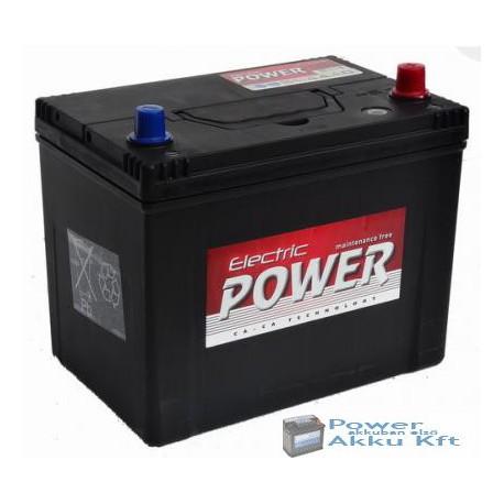 Electric Power 12V 70Ah japán 600A jobb + akkumulátor