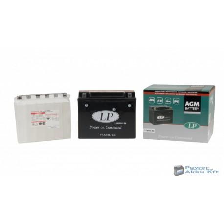 Landport YTX18L-BS 12V 18Ah 240A jobb+ motorkerékpár akkumulátor
