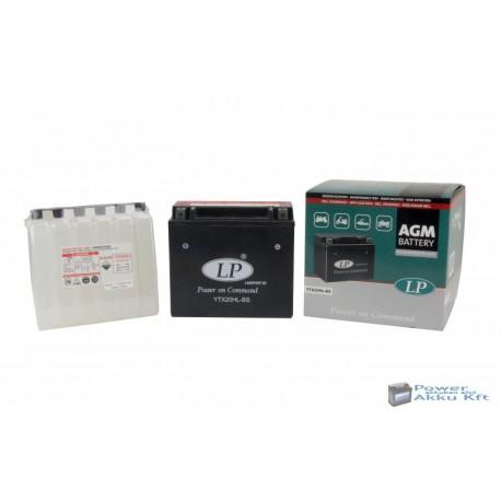 Landport YTX20HL-BS 12V 18Ah 270A jobb+ motorkerékpár akkumulátor