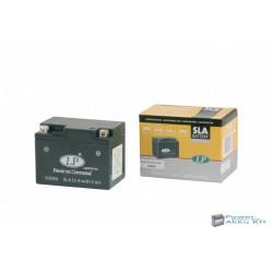 Landport SLA 12-4W5 12V 5Ah 70A jobb+ motorkerékpár akkumulátor