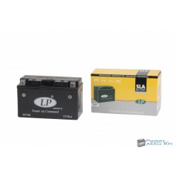Landport YT7-B4 12V 6,5Ah 90A bal+ motorkerékpár akkumulátor