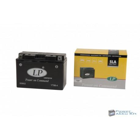 Landport YT9-B4 12V 8Ah 110A bal+ motorkerékpár akkumulátor