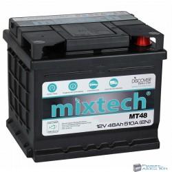 Mixtech 12V 48Ah 510A jobb+ akkumulátor