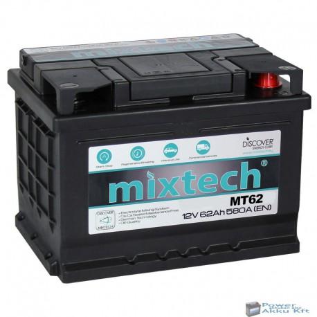 Mixtech 12V 62Ah 580A jobb+ akkumulátor