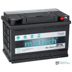 Mixtech 12V 78Ah 750A jobb+ akkumulátor