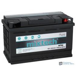 Mixtech 12V 90Ah 780A jobb+ akkumulátor
