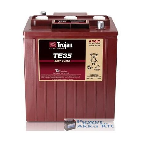 Trojan TE35 6V 200Ah/5H 240Ah/20hr akkumulátor