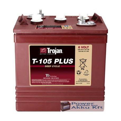 Trojan T105 Plus 6V 185Ah/5H 225Ah/20hr akkumulátor