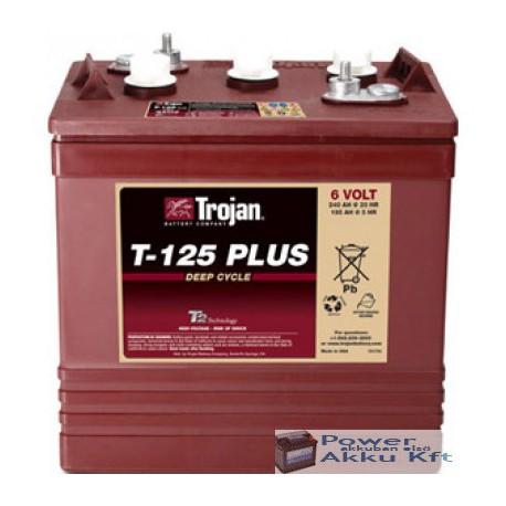 Trojan T125 Plus 6V 195Ah/5H 240Ah/20hr akkumulátor