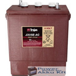 Trojan J305E 6V 250Ah/5H 305Ah/20hr akkumulátor