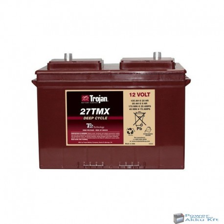 Trojan 24TMX 12V 70Ah/5H 85Ah/20hr akkumulátor