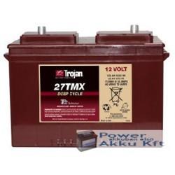 Trojan 27TMX 12V 85Ah/5H 105Ah/20hr akkumulátor