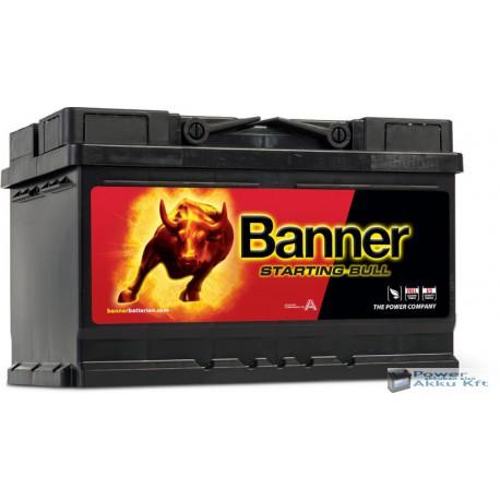Banner Starting Bull 12V 70Ah Jobb+ Akkumulátor