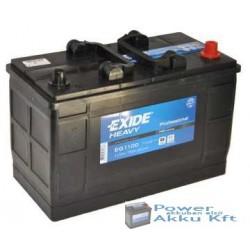 Exide EG1100 12V 110Ah 750A jobb+ Teherautó akkumulátor