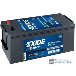Exide EF1853 12V 185Ah 1150A Teherautó akkumulátor