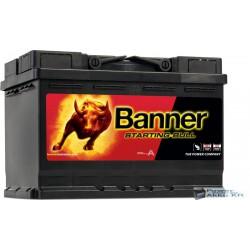 Banner Starting Bull 12V 72Ah 650A Jobb+ akkumulátor